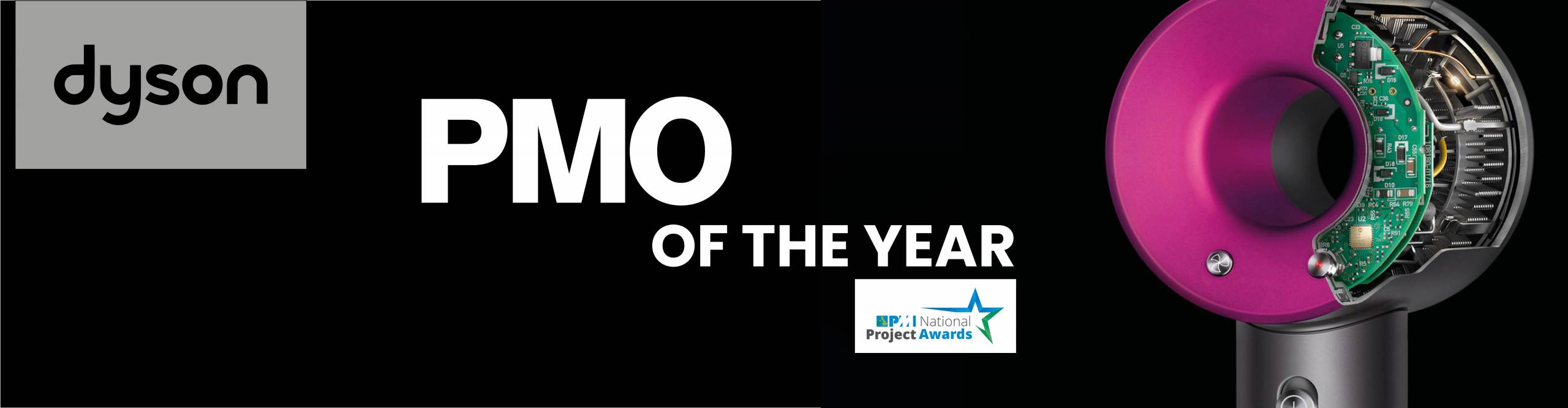 Dyson | Winner of PMO of the Year 2019 - PMI National Awards | Case Study
